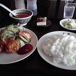 大慶中国料理店 - 料理写真:日替わりランチ600円