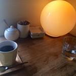 グデン - ランチ、ホットコーヒー
