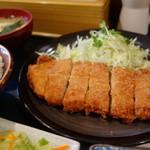 えどや食堂 - トンカツ定食¥750-