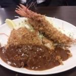 とんかつひろ喜 - ロースカツ&エビフライ¥1200円