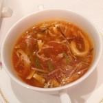 23761389 - 辛子酸味スープ