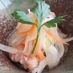 中納言 - 白身魚の南蛮漬けアップ