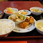 中国飯店 - 料理写真:本日のAランチ全景