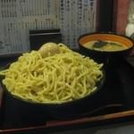 Shodaimemmatsu - ベジポタつけめん テラ盛り(800円+500円)