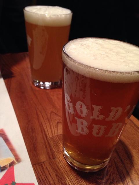 ゴールデンバブ - ベアードビール 初醸造2014 half¥500