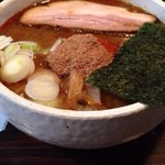 麺処 井の庄 - 辛辛魚ラーメン(辛さ控えめにて)