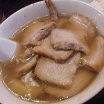 23766493 - 焼豚ラーメン (太麺) 850円