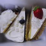 プランタニエ - 料理写真:ショートケーキ・フレジェ・レアチーズ