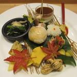 吉方聖居 - 前菜盛り合わせ