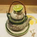 吉方聖居 - 松茸の土瓶蒸し、甲州健味鶏、鯛