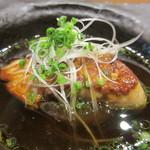 吉方聖居 - フォアグラ大根、鰹出汁のスープ、自家製麺