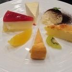 Foruma - チーズケーキ盛り合わせ