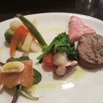 イタリア料理ゴローゾテツ - 前菜盛り合わせ