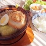 キユーピー3分クッキング - キャベツと車麩の牛すじスープ!