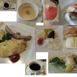 高原のホテル ラパン  - 朝食