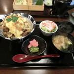 松屋そば店 - みそすき丼840円