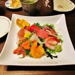 東寿司 - 再訪:お刺身盛り