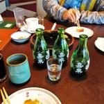 東寿司 - 再訪:日本酒