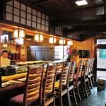 東寿司 - 再訪:カウンター 2