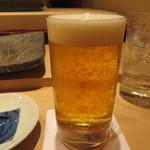 すし家 - 生ビール