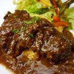 あかんたーれ - 料理写真:【トロトロとろける牛ホホ肉の赤ワイン煮】口に入れた瞬間とろけます・・・。
