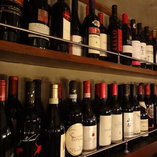 エビスビール300円!スパークリングも赤白ワインも300円!
