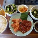 焼肉 大将軍 - 焼肉サービスセット(2014/01/22撮影)