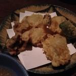 しゃしゃんぼ - 牡蠣の天ぷら