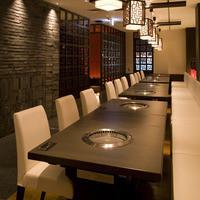 大人数の宴会にはテーブル席がおすすめです!ドリンク、料理の提供がスムーズに!