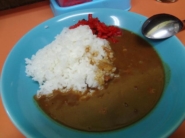 石田食堂 - カレー(半)