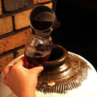 本格中華と共にかめだし紹興酒をお楽しみ頂けます。