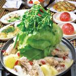 けなりぃ - 単品でもご注文可、サムゲタン鍋