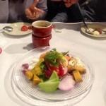 23778786 - 7種の彩り野菜のバーニャカウダ                       ちゃんろみ様・KAZE(のべる)様