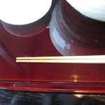 23778969 - 蕎麦が食べやすい箸でした