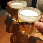23779370 - ビールでカンパ~い