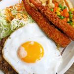 オークレストラン - ハンバーグ&エビフライ