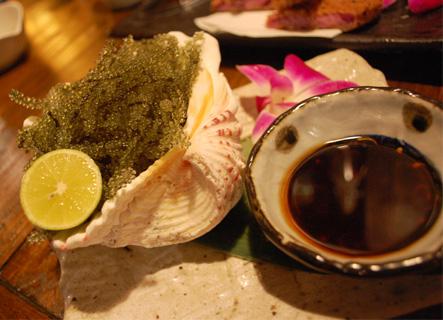 琉球酒場の料理の写真