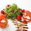 リコッタチーズとまるごとトマトのサラダ