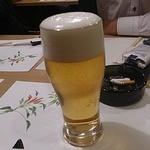 赤れんが - 生ビール