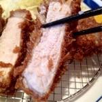 23782397 - 国産厳選豚ロースカツ定食200g1100円