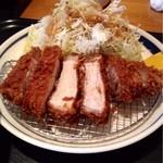 23782451 - 国産厳選豚ロースカツ定食200g1200円