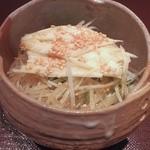礼讃 - 昼膳:大根と長芋のサラダ