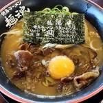 tokushimara-memmenou - 徳島ラーメン肉入り800円