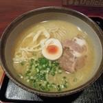 23784363 - 鶏骨ラーメン(全粒粉麺)
