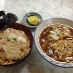 23784939 - カツ丼+中華そば(小)