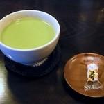 喫茶コマドリ - 抹茶ミルク