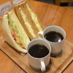 アペティートカフェ - サンドウイッチセット