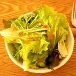 きっちんカラーカ - ランチセットのサラダ