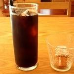 きっちんカラーカ - ランチセットのアイスコーヒー