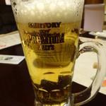 旬菜食健 ひな野 - 生ビール